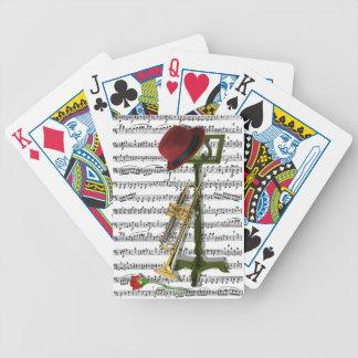 Spielen Sie diese Musik Bicycle Spielkarten