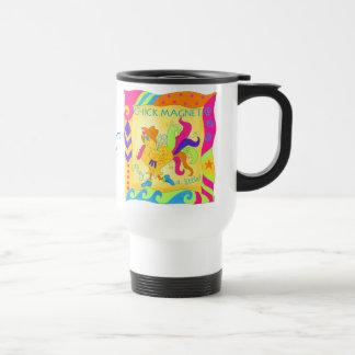 Spielen Sie eine kleine Küken-Magnet-Reise-Tasse Edelstahl Thermotasse