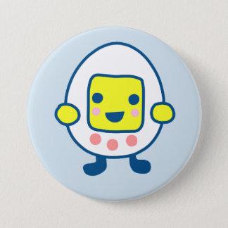 Spielen Sie mich Tamagotchi! Runder Button 7,6 Cm