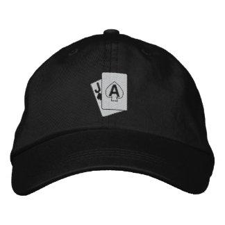 Spielender gestickter Hut Bestickte Baseballmützen