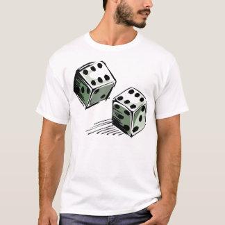 Spielender Mist-Würfel-High Roller T-Shirt