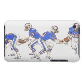 Spieler des amerikanischen Fußballs, die iPod Touch Hüllen
