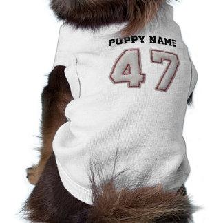 Spieler Nr. 47 - coole Baseball-Stiche T-Shirt