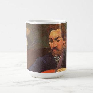 Spieler Schneklud Porträt durch Paul Gauguin Kaffeetasse