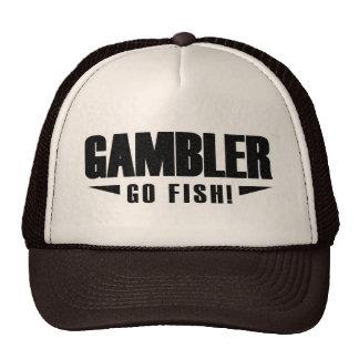 Spieler-schwarzer Logo-Fernlastfahrer-Hut Baseballkappen