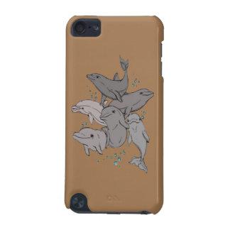 Spielerische Delphine iPod Touch 5G Hülle