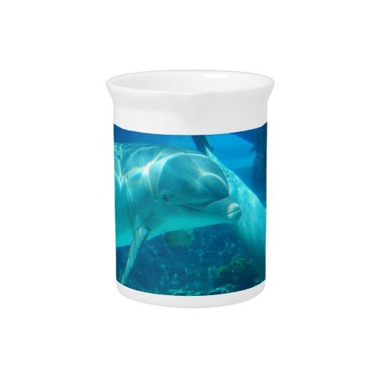 Spielerischer Delphin-Krug Getränke Pitcher