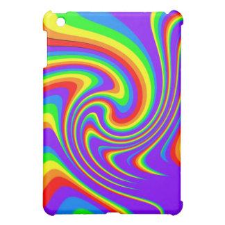 Spielerischer Regenbogen-Entwurf iPad Fall iPad Mini Hülle