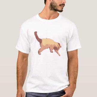 Spielerisches Kätzchen T-Shirt
