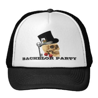 Spielerschädel-Junggeselle-Party Retrokultcap