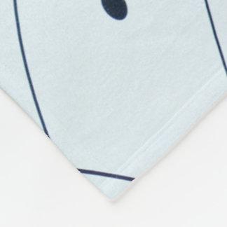 Spielkarte-Asse in einem überlagerten Muster, Fleecedecke