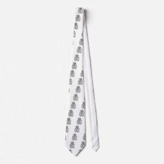 Spielkarte-Bedienstete Krawatte