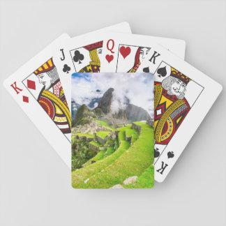 Spielkarte Machu Picchu, Cusco, Peru