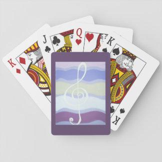 Spielkarte-Musik Spielkarten