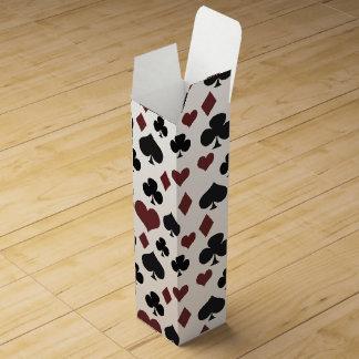Spielkarte-Symbole Weinboxen