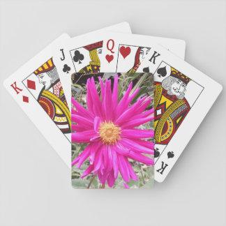 Spielkarten 1 der Dahlie
