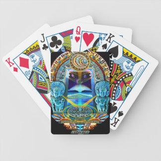 Spielkarten der kosmischen Balance