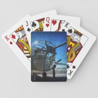 Spielkarten des Bomber-B-25