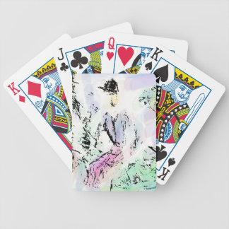 Spielkarten des Fahrrades