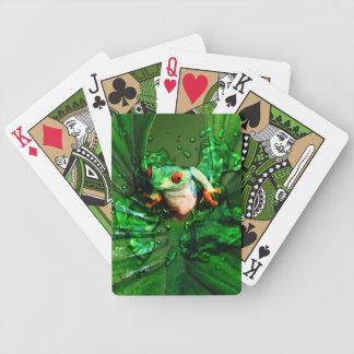 Spielkarten des Frosch-4