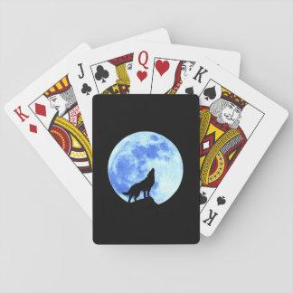 Spielkarten des Heulenwolf-A,