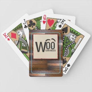 Spielkarten des kundenspezifischen Logos