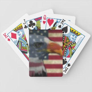 Spielkarten des Patrioten