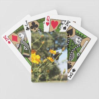 Spielkarten des Schmetterlings-II