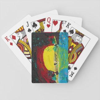 Spielkarten des Sonnenaufgangs