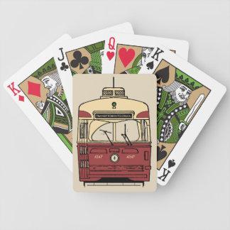 Spielkarten Durchfahrt-Toronto PCCs
