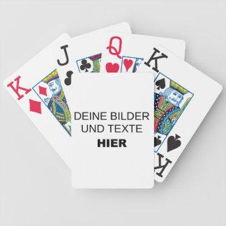 Spielkarten komplett selbst gestalten
