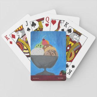 """Spielkarten mit """"Eiscreme"""" durch ALarsenArtist"""