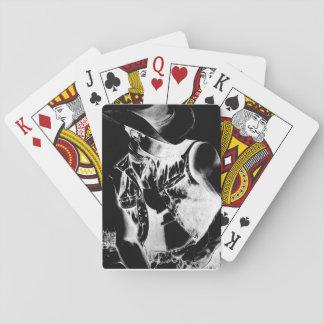 Spielkarten mit ursprünglichem Kunst-Cowboy