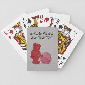 """Spielkarten Motiv """"Spiel mit mir"""""""