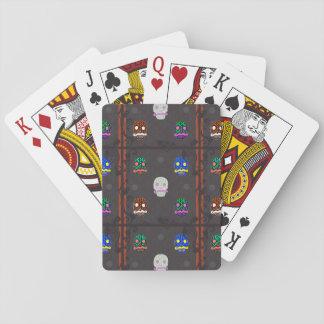 Spielkarten Sir-Skull Dark