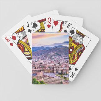 Spielkarten, Standardindex stellt Cusco gegenüber Spielkarten