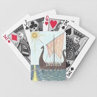 Spielkarten VIKINGS DRAGONBOAT
