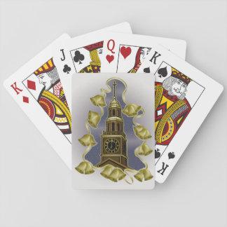 Spielkarten Weihnachtsturm-Bell