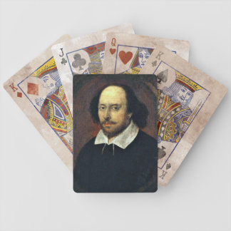 Spielkarten William Shakespeares