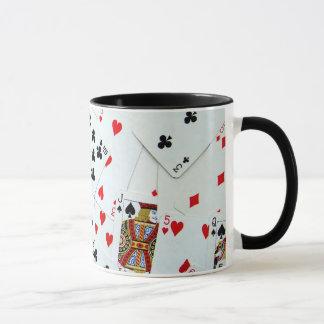 Spielkartespiele Tasse
