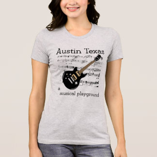 Spielplatz Austins Texas Muscial T - Shirt