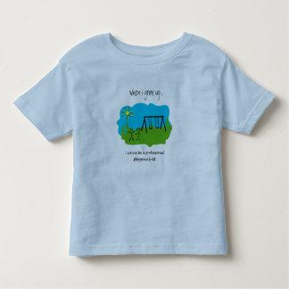 Spielplatz-ist Kleinkinder T-shirt
