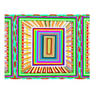 Spielraum: Elegante Energie-Entwurf GESCHENKE Postkarten