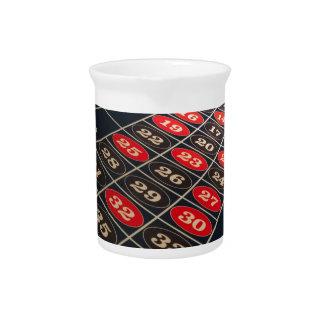 Spieltisch-Roulette Las Vegas Getränke Pitcher