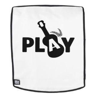 SpielUkulele Uke Musikfreund-Geschenk lustig Rucksack