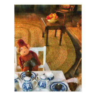 Spielwaren - das Tee-Party Vollfarbige Flyer