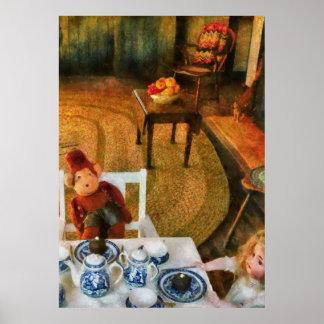 Spielwaren - das Tee-Party Plakate