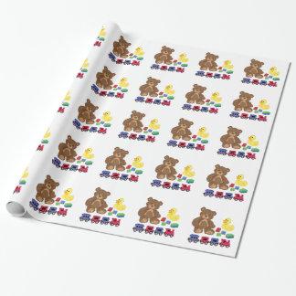 Spielwaren Geschenkpapier