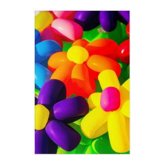 Spielzeug-Ballon-Blumen Acryldruck