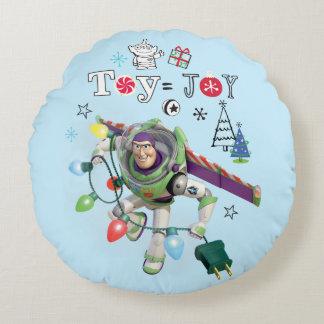 Spielzeug = Freude Toy Storys | Rundes Kissen